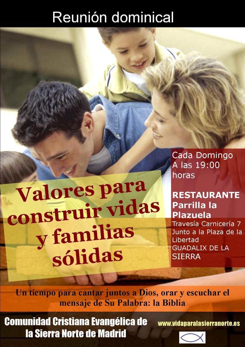 Valores para construir vidas y familias sólidas