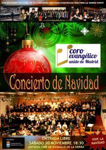 cartel concierto coro unido 2013