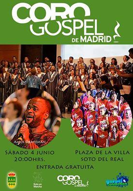 coro gospel en soto